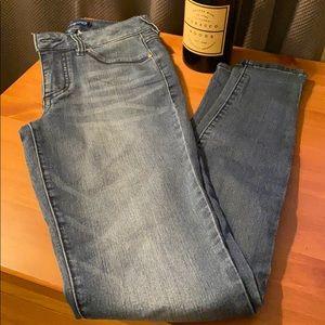 Blue Spice Skinny Jeans